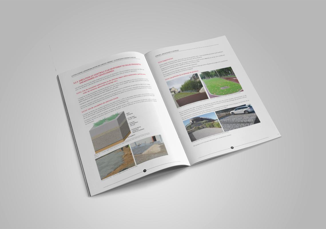 Brochure drainant